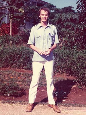 Tony Addison in Tanzania 1980