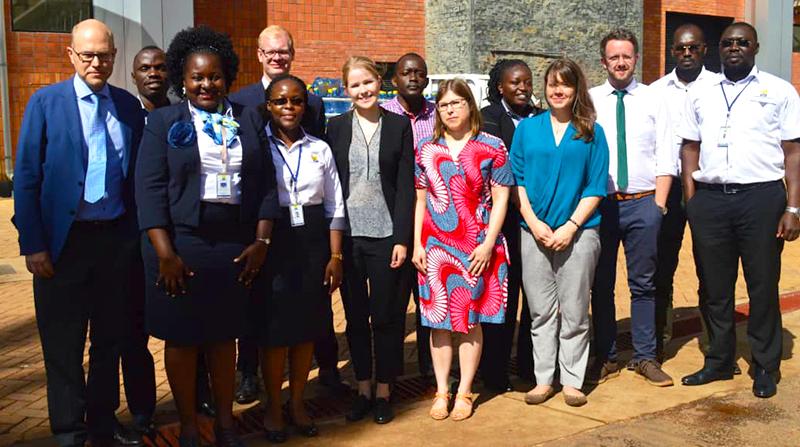 Uganda tax team in Kampala 2019