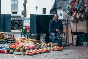 Market stall - Unsplash