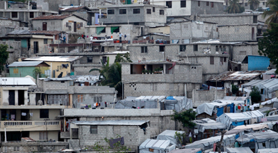 A view of Delmas 32, a neighborhood in Haiti which many residence are beneficiaries of the PRODEPUR- Habitat project, in Delmas 32, Haiti. Photo: © Dominic Chavez / World Bank