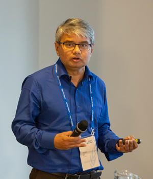 Kunal Sen at the Think development – Think WIDER conference.