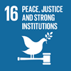 SDG16 - Peace, justice and strong institutions