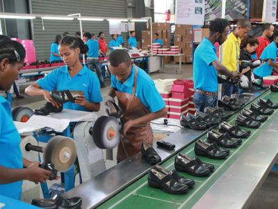 Huajian shoe factory in the Eastern Industrial Zone in Ethiopia. © UNIDO