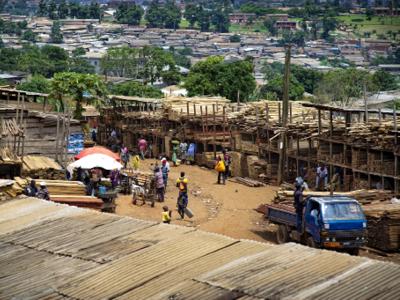 Montée Parc Wood Market, Yaoundé, Cameroon. © Ollivier Girard / CIFOR