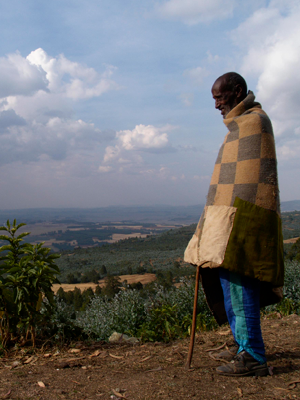 View from Entoto Mountain. © Arne Hoel / World Bank