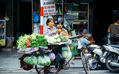 UNU-WIDER Policy Brief 1/2020: MSMEs in Vietnam. Photo: Jack Young / Unsplash
