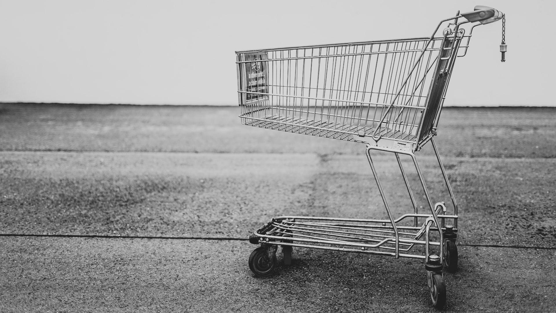 Empty shopping cart / Unsplash-Bruno Kelzer