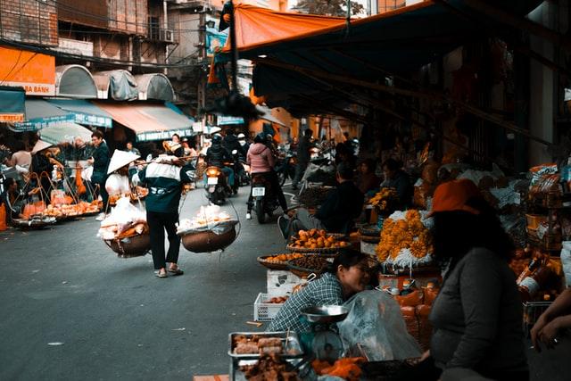 Vietnamese market, Unsplash / callme_gohann