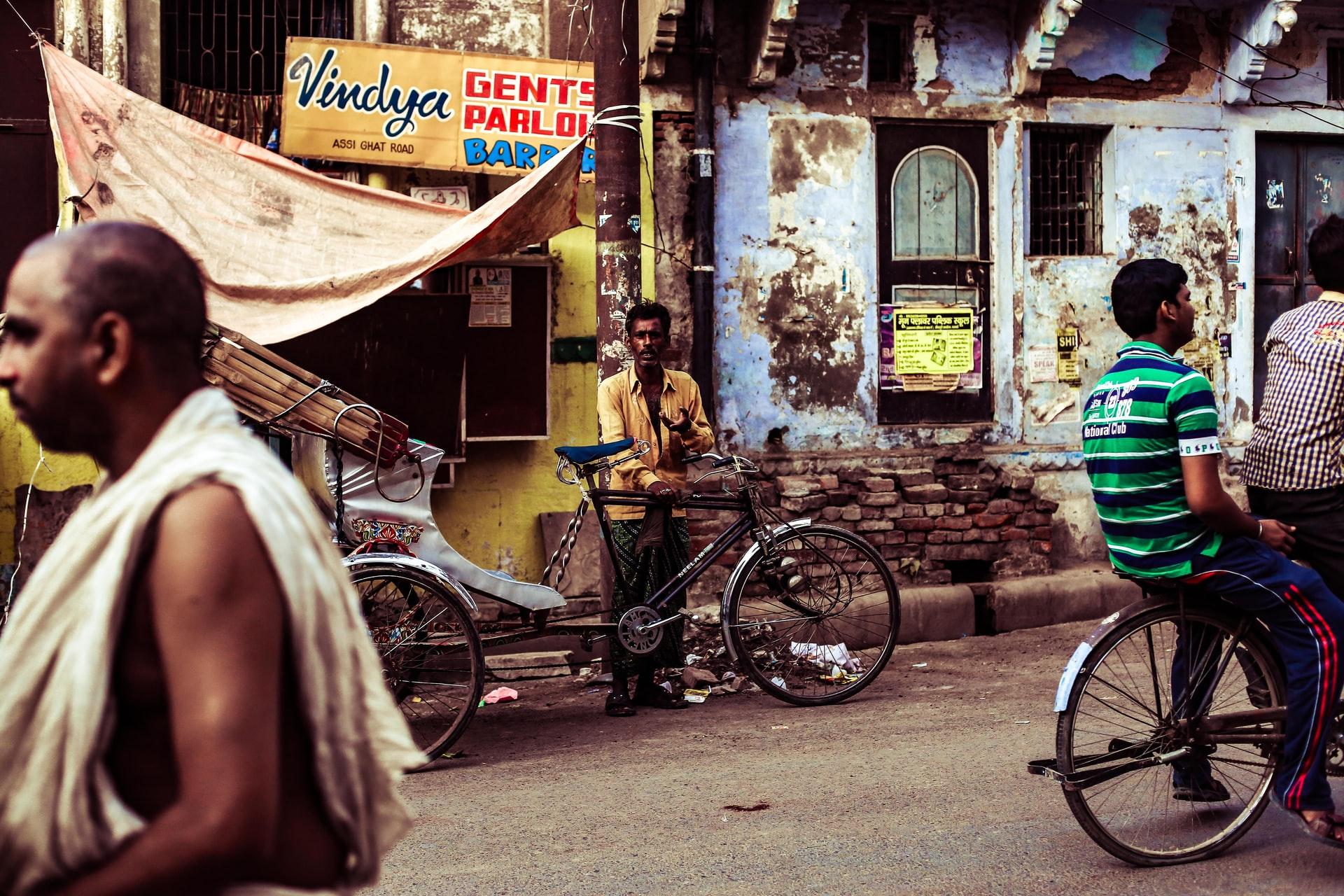 Streets of Varanasi, India - Charl Folscher / Unsplash