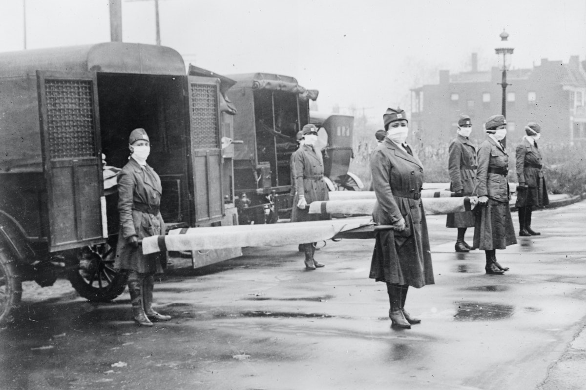 Image from 1918 flu pandemic