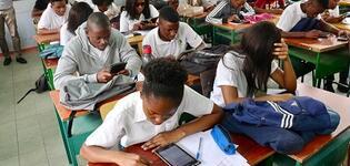 TVET students in Maputo City. Photo: Elina Penttinen