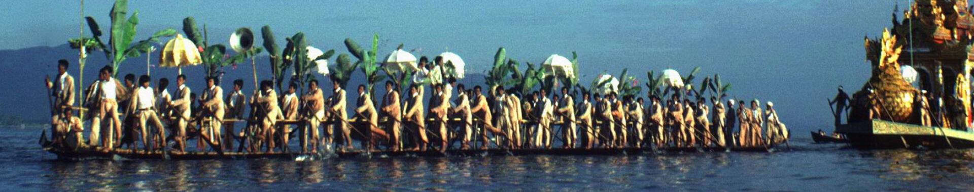 Phaung Daw Oo Festival, Inlé Lake, Shan State, Myanmar/Alain