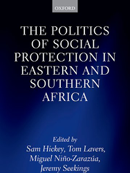 Social protection book cover image