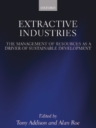 Book - Extractive Industries: The Management of Resources as a Driver of Sustainable Development