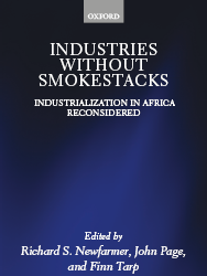 Book - Industries without Smokestacks: Industrialization in Africa Reconsidered
