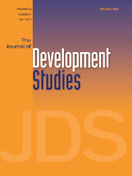 The Journal of Development Studies, volume 53, number 7, July 2017