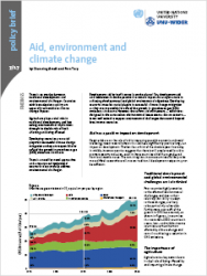 Policy Brief 7/2017 – Aid, enviroment and climate change