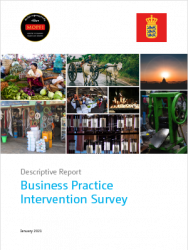 Cover image for the report Business Practice Intervention Survey Myanmar 2021