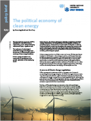 Policy Brief 6/2017 – The political economy of clean energy
